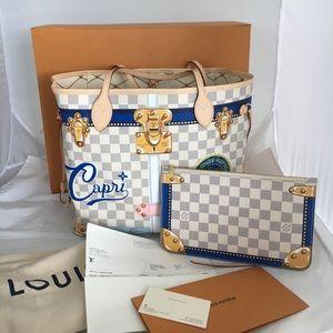Louis Vuitton Trunk Summer Neverfull MM